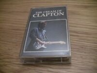 The Cream of Clapton Cassette Tape Eric Derek and the Dominoes