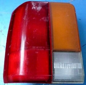 Ford Festiva Taillight Tail Light Smooth Finish Driver's Side  Left Side