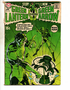 Green Lantern #76 (1970 DC Comics) - 1st Neal Adams Cover; Key Issue