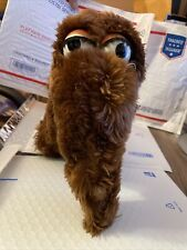 Vintage SNUFFLEUPAGUS Snuffy Plush Applause Muppets Sesame Street Stuffed Toy