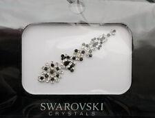 Bindi bijoux piel boda frente strass cristal de Swarovski negro D ING 3682
