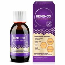 Benenox Overnight Recharge Blackcurrant Flavour Food Supplement 135ml