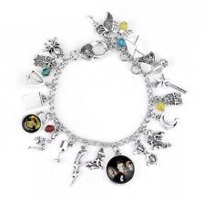 Harry Potter Hogwarts Wizard Charm Bracelet Gift Christmas tv Uk