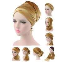 Women Ladies Velvet Under Scarf Hijab Tie Back Bonnet Cap Ladies Head Scarf DB