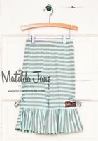 Girls MATILDA JANE Hello Lovely Lined With Love Big Ruffles pants SIZE 4 EUC