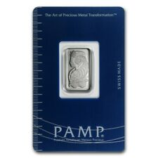 PAMP Suisse, 5 gram 999.5 Platinum Bar  in Assay Card