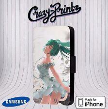 Hatsune Miku Anime Manga Cool para Iphone/Samsung Funda de Piel con Tapa J119