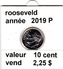 pieces de 10 cent rooseveld 2019 P