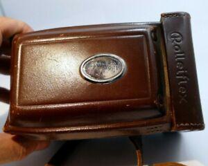Rolleiflex TLR Camera Case genuine vintage 75mm f3.5