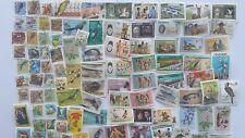 200 Different Uganda Stamp Collection