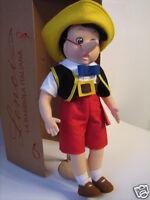Lenci Pinocchio bambola scatola certificato autenticità