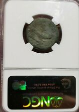 Anonymous, after c.211 BC AE Quadrans.Prow of Galley.  Roman Republic . NGC Fine