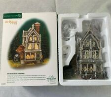 Dept 56 Halloween Mordecai Mould Undertaker All Hallows Eve Dickens 56-58509 NEW