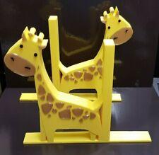 Giraffe Bookends - Nursery - Childrens Bedroom - Safari Animals-3D Printed