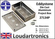 Eddystone 27134P Die Cast aluminio Estuche Instrumento Caja de proyecto electrónico