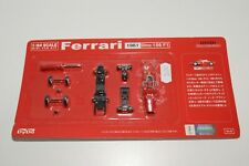 V 1:64 380 KYOSHO METAL KIT 1961 FERRARI DINO 156F1 156 F1 RED MINT ON CARD
