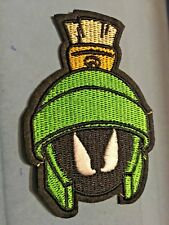 """Marvin the Martian  Embroidered Iron/Sew ON Patch 3.5"""" x 2.50"""" Cartoon"""
