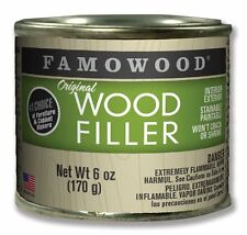 FAMOWOOD Solvent-Based Original Wood Filler - 36041100 Alder - 1/4 Pint