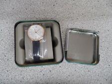 Fossil Damenarmbanduhr Jacqueline - ES3843 rosegold und Leder blau !! NEU !!