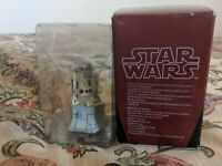 Star Wars De Agostini Chess Figure R2-D2 White Rook 2010 Free Postage