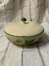 Vintage Franciscan Ware Ivy Casserole Dish With Lid
