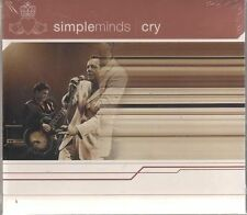 SIMPLE MINDS CRY  CD SINGLE SEALED!!