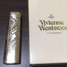Vintage Vivienne Westwood Gold Gas Lighter w/ Engraving