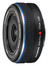 Olympus M.Zuiko Digital 17 mm / 2,8  Objektiv B-Ware vom Fachhändler schwarz