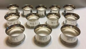 Christofle Napking Rings - Set of 12