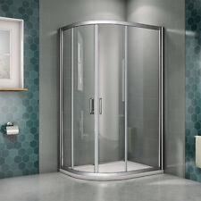 Quality 1200x800mm Quadrant Shower Enclosure EasyClean Glass Door Cubicle Screen