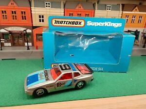 Matchbox Super Kings Porsche 944  K98