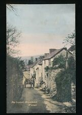Somerset CHEDDAR The Lippet horse & cart pre 1919 PPC
