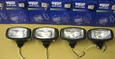 Lot de 4 WIPAC S7305 Barre de toit Spot Lampes 12 V 55 W Application universelle