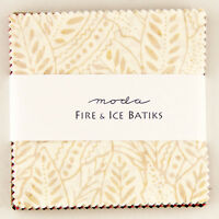 "Moda FABRIC Charm Pack ~ FIRE & ICE BATIKS ~ 40 - 5"" squares"
