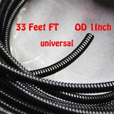 "1""  Split Wire Loom Conduit Polyethylene Tubing Car Power Amp Automotive 10M L"