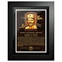 """Wade Boggs Boston Red Sox Hall of Fame Gallery Photo (Size: 14"""" x 18"""") Framed"""