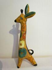Vintage Mid 20th Century USSR LOMONOSOV Porcelain Giraffe Figurine