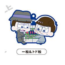 Osomatsu-san Ichimatsu, Todomatsu PitaColle Rubber Phone Strap