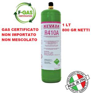 R410A BOMBOLA GAS RICARICABILE CLIMATIZZATORI MADE IN ITALY GAS REFRIGERAN