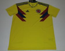befdaece0a9 2018 SELECCION COLOMBIA HOME ADIDAS M XL WORLD CUP JERSEY JAMES RODRIGUEZ  FALCAO