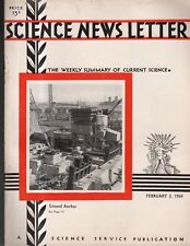 1934 Science Newsletter February 3-Ousted German scholars come to U.S.; Autogiro
