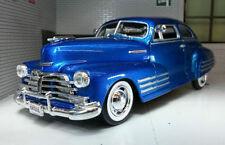 Voitures, camions et fourgons miniatures bleus pour Chevrolet 1:24