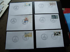 FRANCE - 6 enveloppes 1995 (cy45) french