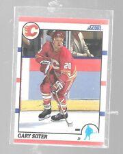 1990-91 Score Gary Roberts 106 Calgary Flames Hockey Card