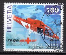 Switzerland - 2002 Red Cross / Helicopter -  Mi. 1784 VFU