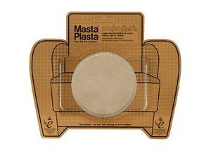 SUEDE MastaPlasta Self-Adhesive Repair Patch CIRCLE 8cmx8cm Fix holes, rips
