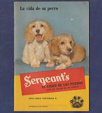 1945 BRAZIL SERGEANT'S EL LIBRO DE LOS PERROS IN PORTUGUESE (36 PAGE DOG BOOK)