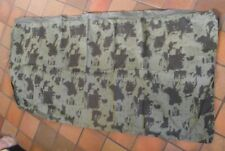 Vintage Australian Army camouflage First pattern waterproof fabric Basha 53cm x