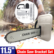 11.5 Inch Portable Woodworking Electric Bar Chain Saw Stand Bracket Cutting Tool