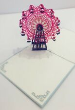 POP UP CARD - Ferris Wheel /get Well/mothers Day/thank You